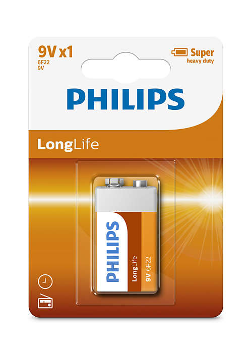 Topbatterijen met laag energieverbruik