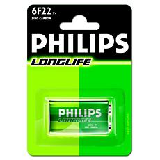 6F22/01B -   LongLife Battery
