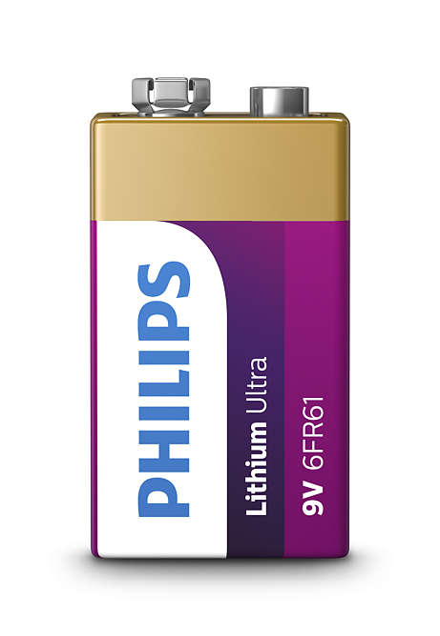 Durata 4 volte maggiore rispetto alle batterie alcaline