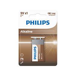 Power Alkaline Batería