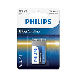 Ultra Alkaline Batteri