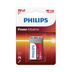 Power Alkaline Baterie
