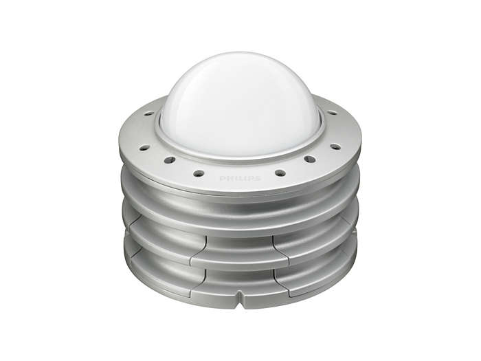 ArchiPoint iColor PowerCore with translucent dome lens and wall mounting base