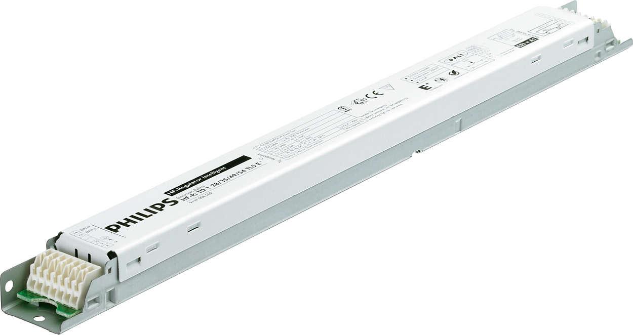 Balasto electrónico HF-Regulator Intelligent Touch & DALI para lámparas TL5: el siguiente paso en el ahorro energético.