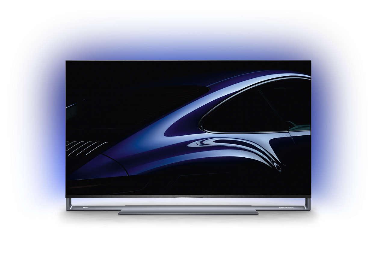 飞利浦 Porsche Design 环景光电视