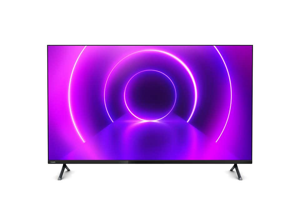 4K Slim Smart LED TV
