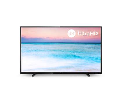 Світлодіодний телевізор 4K UHD Smart TV