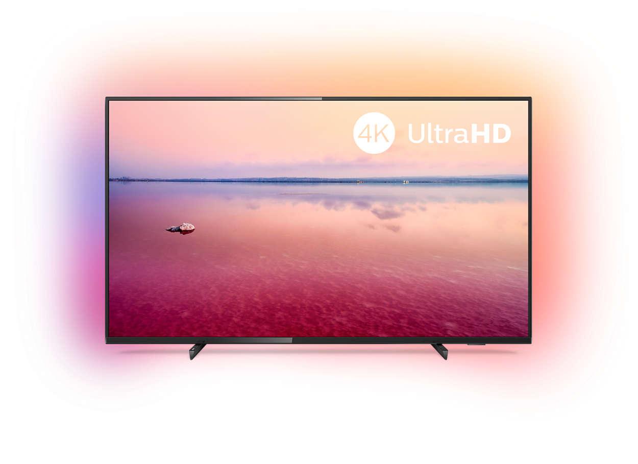 4K UHD LED смарт телевизор