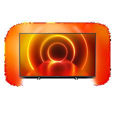 70PUS7805/12 LED Téléviseur SmartTV 4KUHD LED