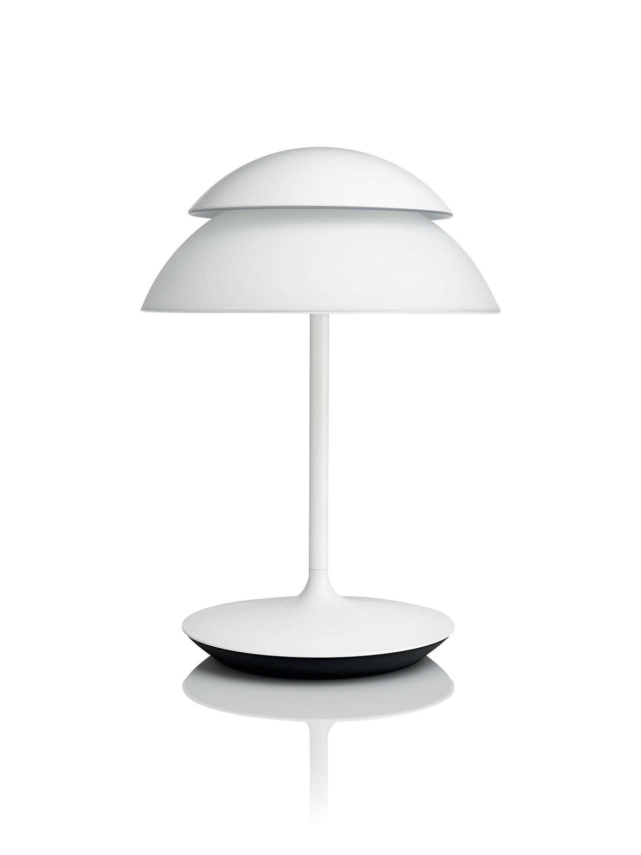 hue white and color ambiance lampe de table beyond. Black Bedroom Furniture Sets. Home Design Ideas