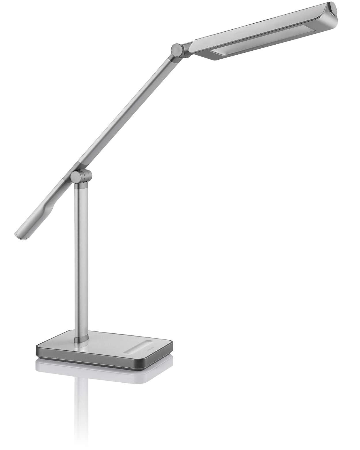 Advanced desk lighting for a brighter future