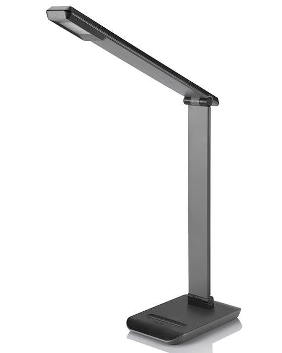 Ulepszone oświetlenie biurka, ponieważ wygoda ma znaczenie
