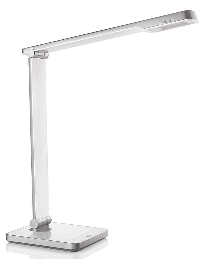 Wzbogacone oświetlenie biurka – ponieważ liczy się komfort