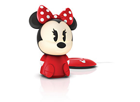 Philips Disney SoftPal Portable light friend 71710 31 86 Portable light friend Minnie red LED