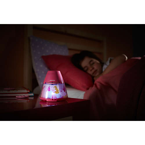 Disney 2-in-1: projector en nachtlampje