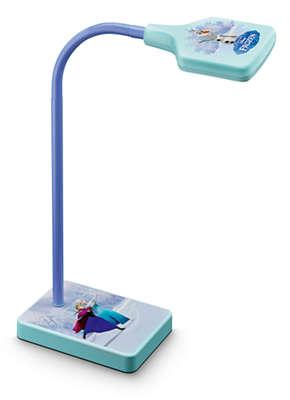 lampe de bureau reine des neiges