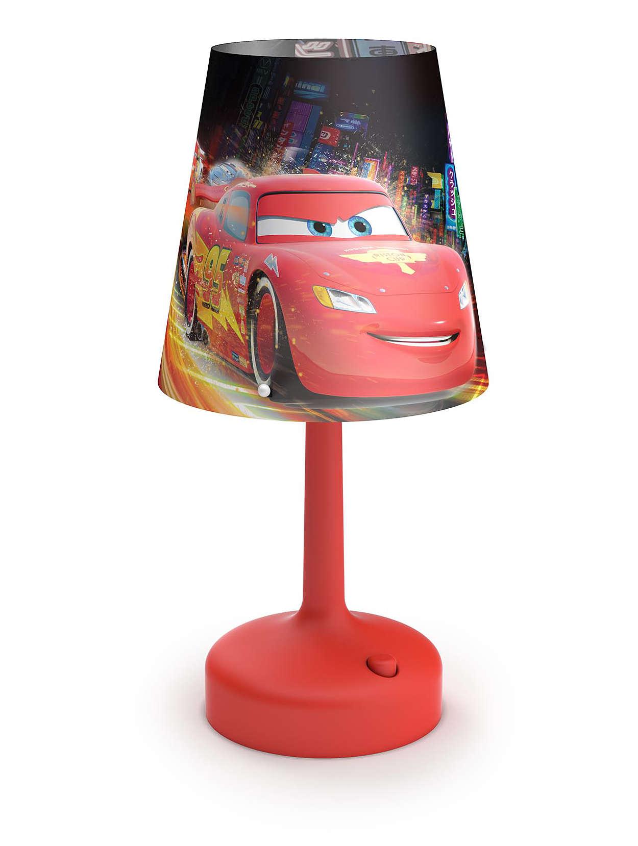 table lamp 717963216 disney. Black Bedroom Furniture Sets. Home Design Ideas