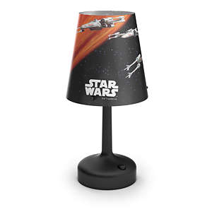 Star Wars Bordlampe