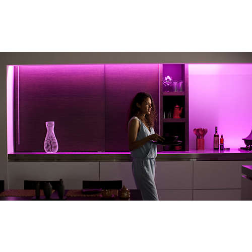 Hue White and color ambiance Lightstrip Plus