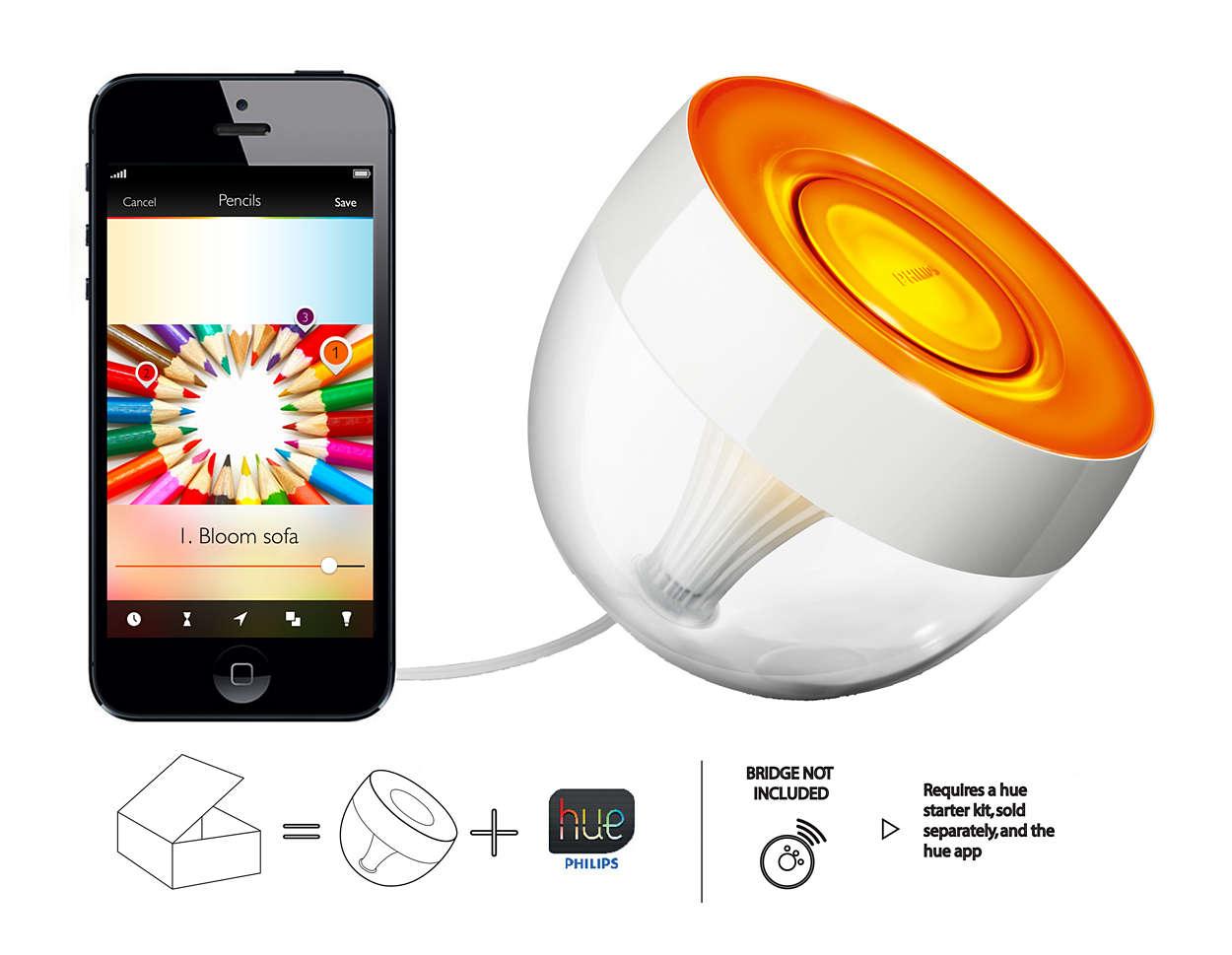 color your world with light - Lampe Philips Color