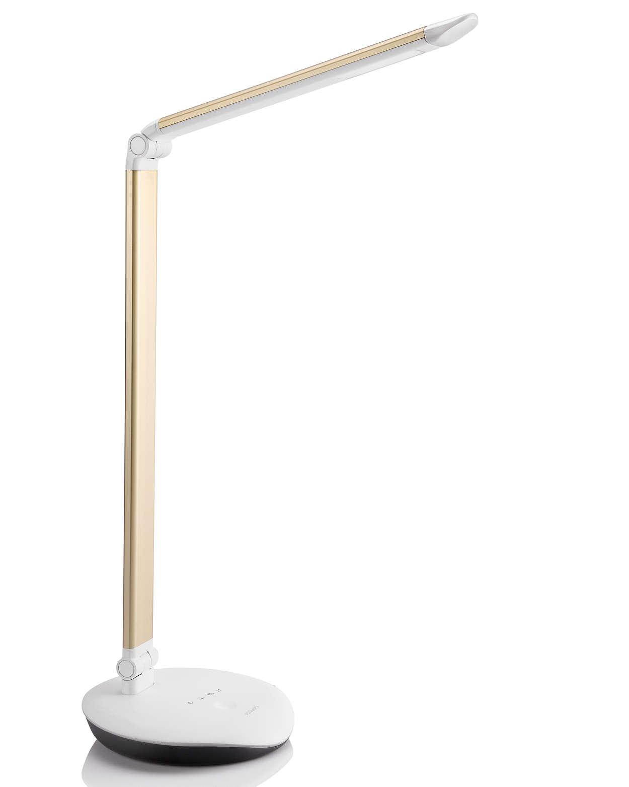 niezawodne oświetlenie biurka