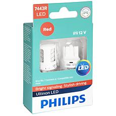 7443RULRX2 Ultinon LED Ampoule pour clignotant de voiture
