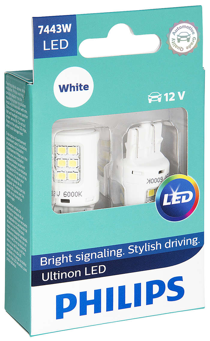 Bright signaling. Stylish driving.