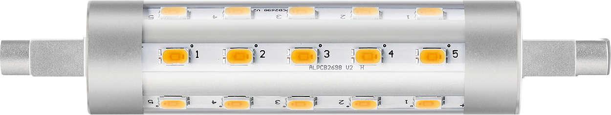 Netspanning lineair R7S met zeer hoge lichtopbrengst