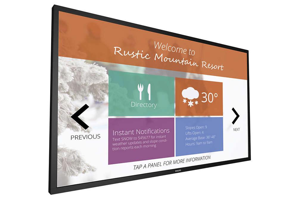 Découvrez une nouvelle ère d'interactivité