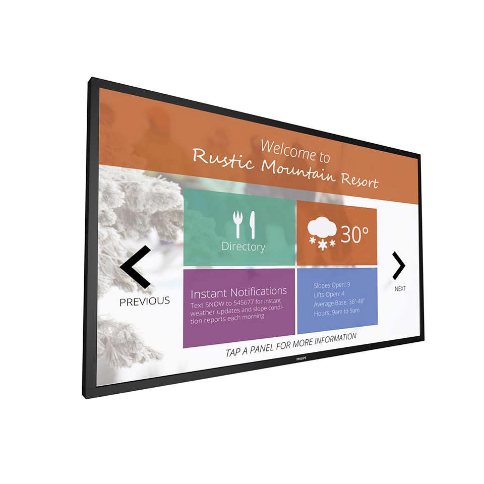 Signage Solutions Dotykový displej Multi-Touch