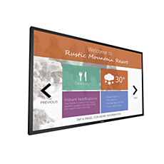75BDL3151T/75  Interactive whiteboard