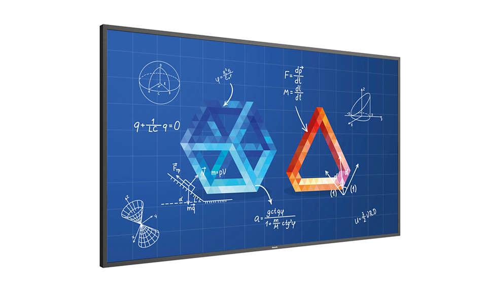 Interaktívna výuková obrazovka