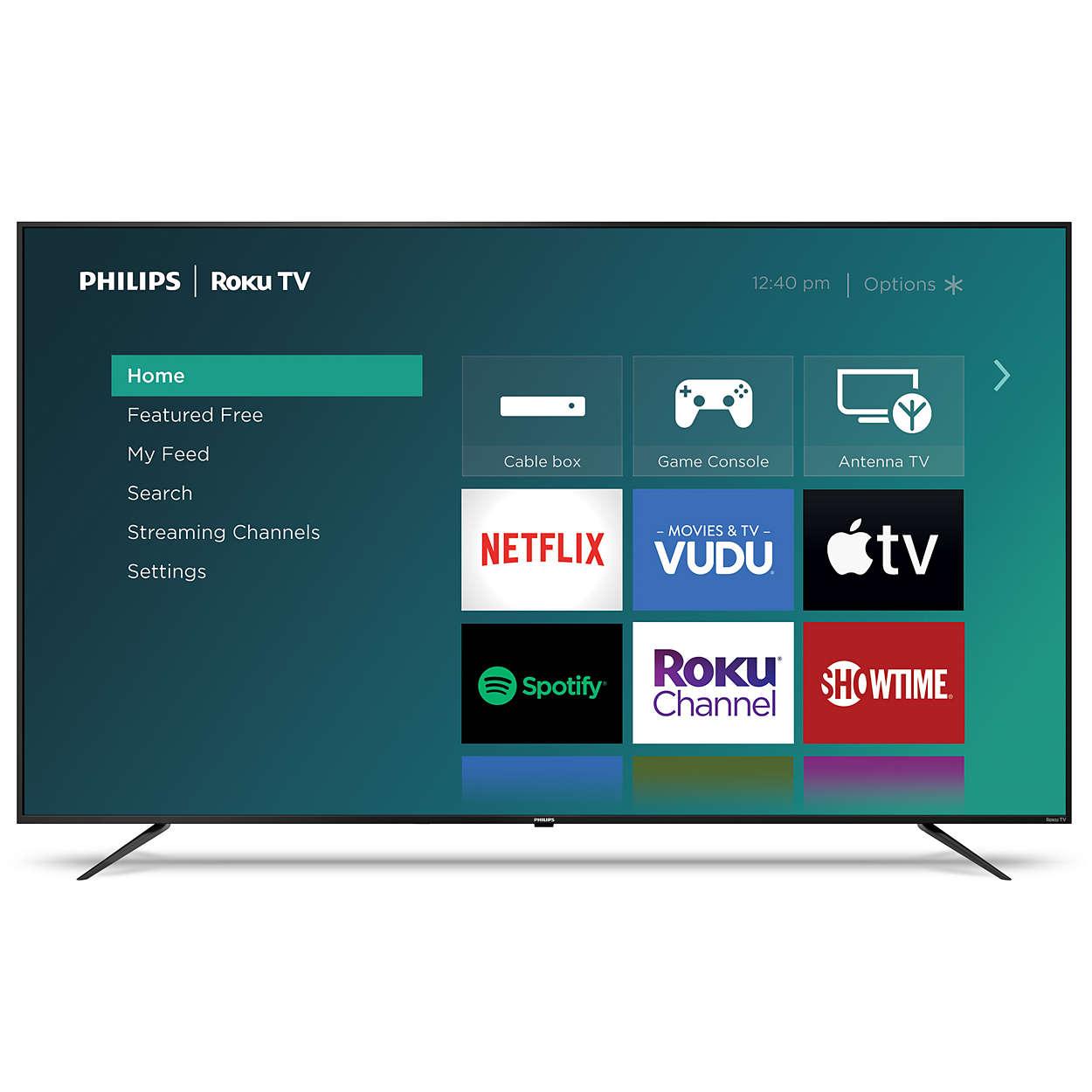 Plus qu'un téléviseur Smart; un meilleur téléviseur.