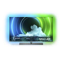 9600 series Android TV 4K UHD cu mini-LED-uri
