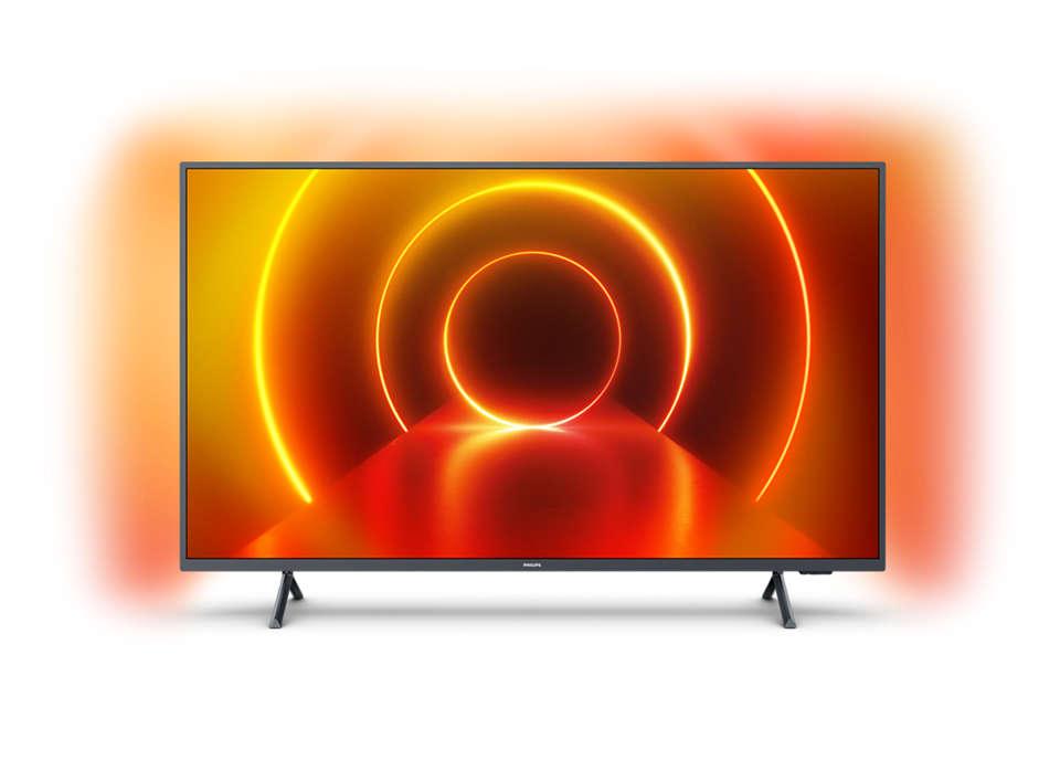 4K 纤薄智能 LED 电视