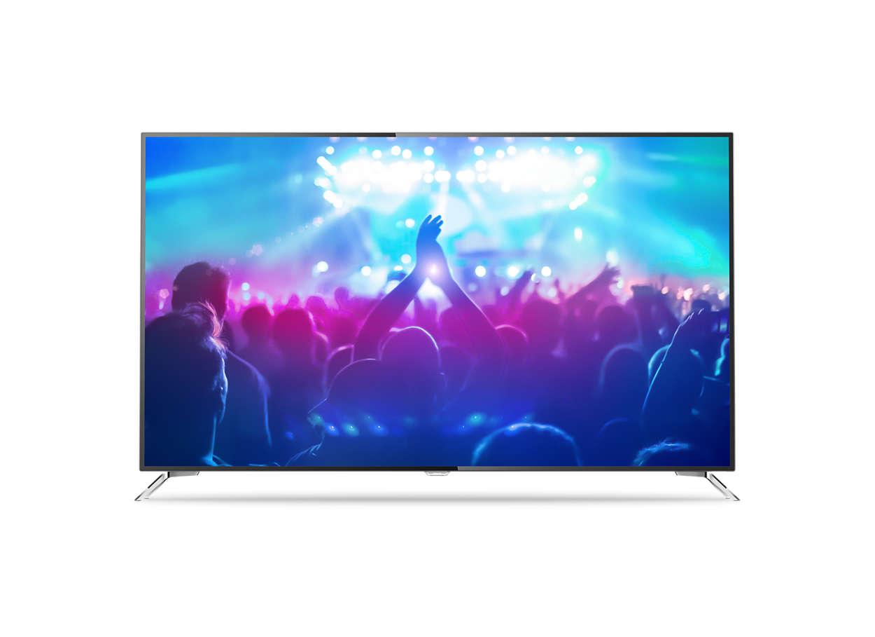 4K 超纖薄 Smart LED TV