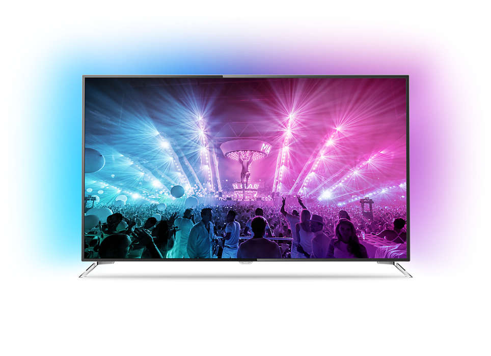Gücünü Android TV'den alan 4K Ultra İnce LED TV