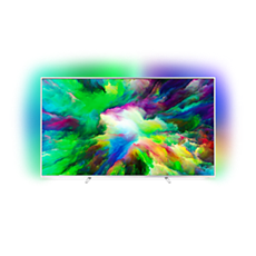 75PUS7803/12  Niezwykle smukły telewizor LED Android 4K UHD