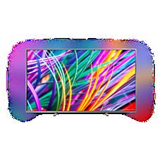 75PUS8303/12  Ultraflacher 4K UHD-LED-Android-Fernseher
