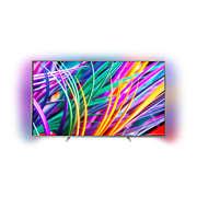 8300 series Slimmad TV med 4K Ultra HD som drivs av Android TV