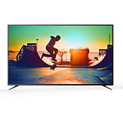 6000 series 4K Ultra Slim Smart LED TV