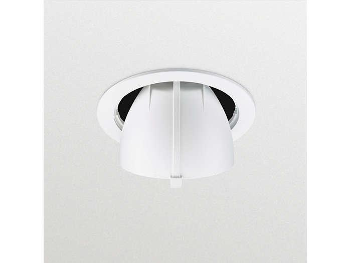 GreenSpace Accent (RS342B), herausschwenkbarer LED Einbaustrahler; Rückansicht