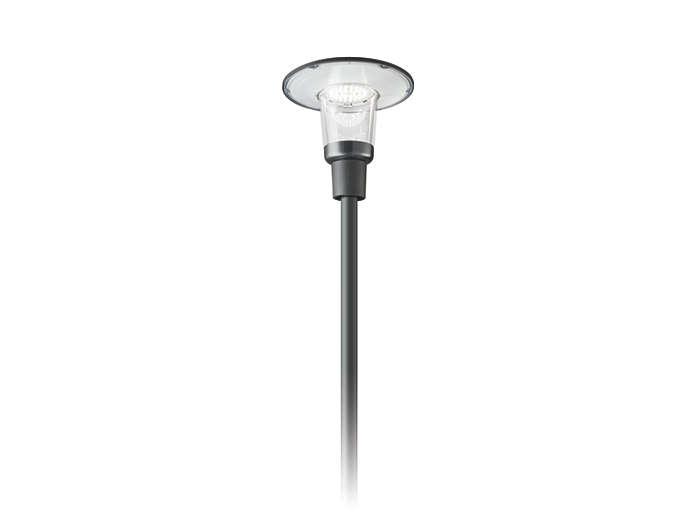 CityCharm Cordoba BDS490 s'adapte à tous les poteaux standards.