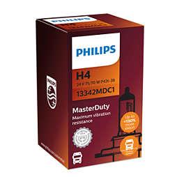 MasterDuty Frontlyspærer på 24V