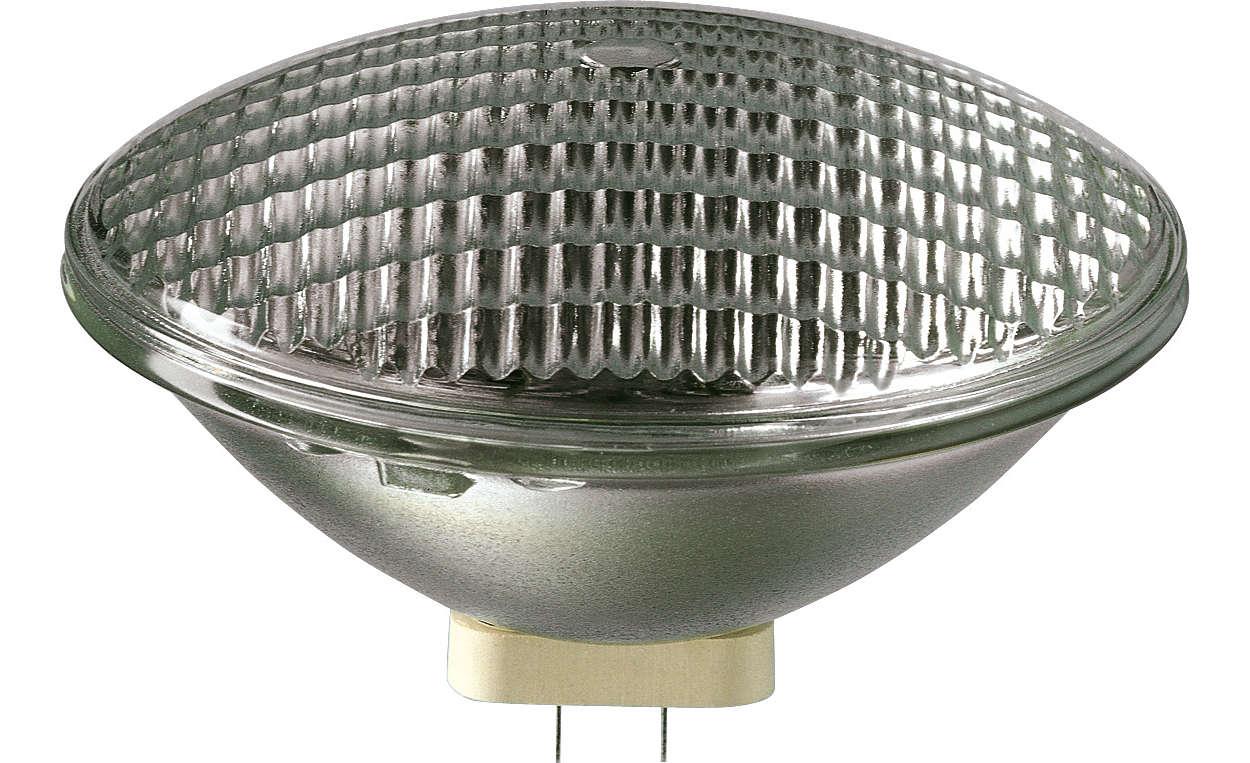 Reflektorlampe mit Weitblick