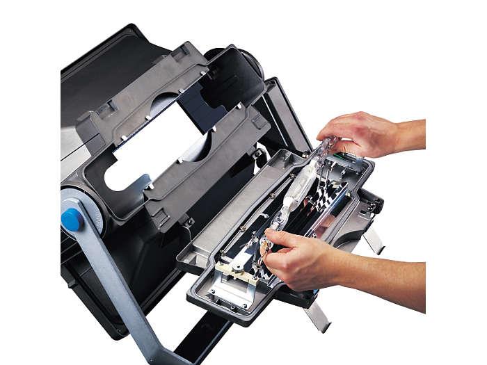 Eenvoudige methode voor lampvervanging zonder de stand te wijzigen