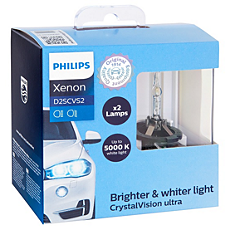 85122CVS2 -   CrystalVision ultra HID Car headlight bulb