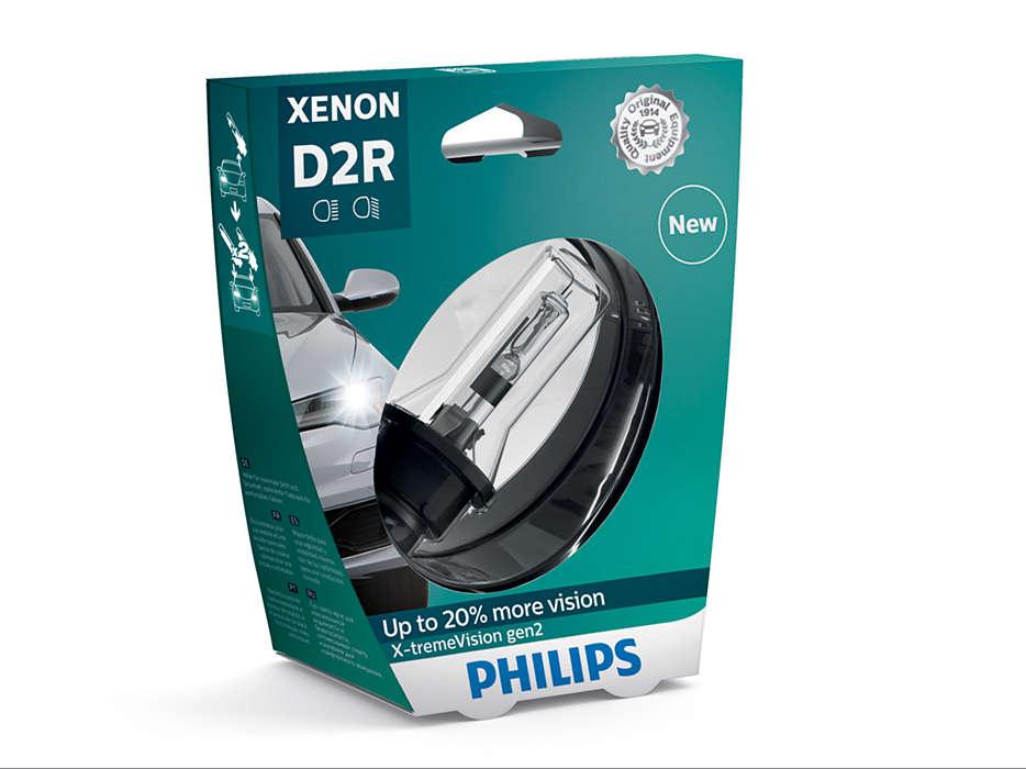 Sentiti sicuro e guida in sicurezza con luci più luminose