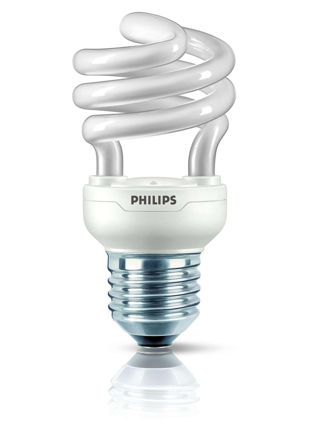 Nejmenší úsporná zářivka