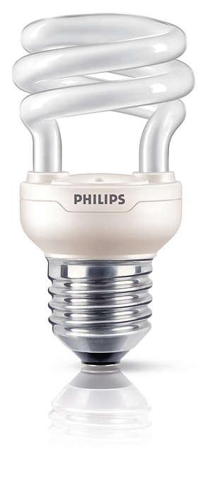 La più piccola e luminosa lampadina a risparmio energetico